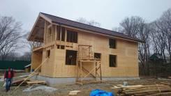 Строительство домов из SIP панелей и каркасных домов от 10000 кв. м