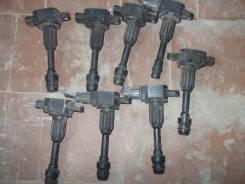 Катушка зажигания. Nissan: Cube, Micra, Micra C+C, Note, Cube Cubic, AD, March Двигатели: CR14DE, CG12DE, CGA3DE, CG10DE, CR12DE, CR10DE