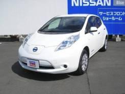 Nissan Leaf. вариатор, передний, электричество, 17 000 тыс. км, б/п. Под заказ