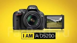 Nikon D5200. 20 и более Мп