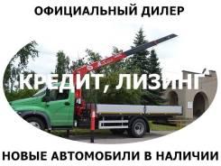 ГАЗ ГАЗон Next. Новый Газон Некст с КМУ UNIC URV-374 /официальный дилер, 4 700 куб. см., 5 000 кг.