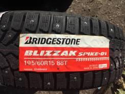 Bridgestone Blizzak Spike-01, 195/60/R15