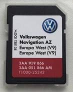 SD карта RNS-315. Volkswagen Navigation RNS-315, 2017. V9 (Зап. Европа)