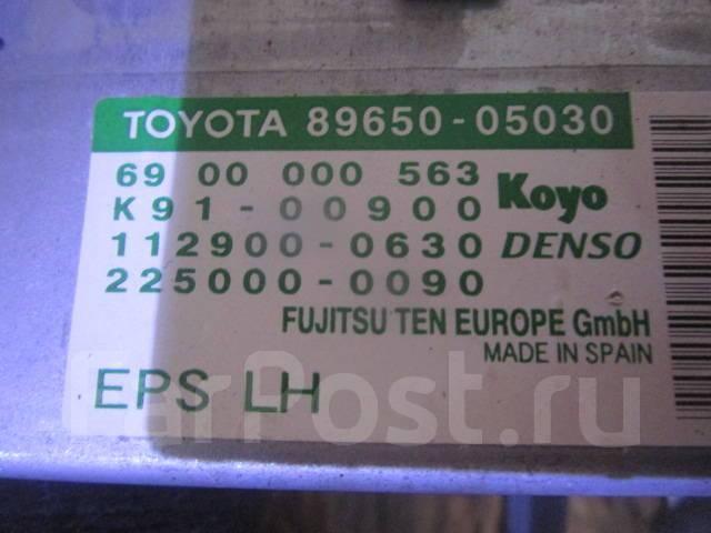 Блок управления рулевой рейкой. Toyota Avensis, ZZT250, ZZT251, ZZT251L Двигатели: 1ZZFE, 3ZZFE