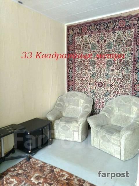 1-комнатная, улица Толстого 30. Толстого (Буссе), агентство, 36 кв.м.