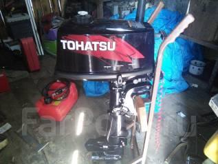Tohatsu. 5,00л.с., 2-тактный, бензиновый, нога S (381 мм), Год: 2016 год