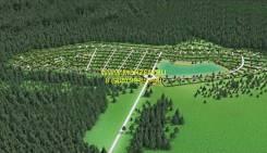 Ижс на берегу красивого озера. Газ и свет. Сосновый лес. 850кв.м., собственность, электричество, вода