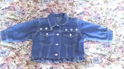 Куртки джинсовые. Рост: 80-86, 86-98 см