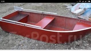 Лодка алюминиевая 340 новая. Год: 2017 год, длина 3,40м., двигатель подвесной