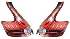 Стоп сигналы Nissan JUKE 10- Диодные ХРОМ /Красные. Nissan Juke, YF15, F15, SUV, NF15, F15E Двигатели: HR15DE, MR16DDT, HR16DE, K9K