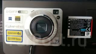 Sony Cyber-shot DSC-W110. 7 - 7.9 Мп, зум: 4х