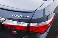 Накладка на стоп-сигнал. Toyota Corolla, ZRE182, ZRE172, NRE180, ZRE181, ZRE161, NRE160, NDE160 Двигатели: 2ZRFE, 2ZRFAE, 1NRFE, 1ZRFE, 1ZRFAE, 1NDTV