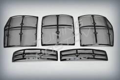 Накладка на решетку бампера. Toyota Land Cruiser, URJ200, URJ202, URJ202W, VDJ200