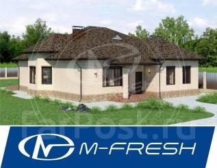 M-fresh Atlant (А какие материалы лучше - мы подскажем Вам! ). 200-300 кв. м., 1 этаж, 3 комнаты, дерево