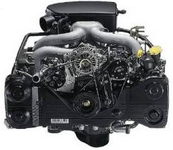 Двигатель FB20 на Subaru без навесного
