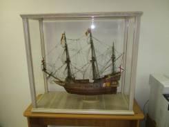 Модель парусного корабля, 17й век