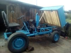Самодельная модель. Мини-трактор, 300 куб. см.