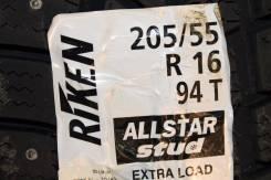 Riken AllStar Stud. Зимние, шипованные, 2016 год, без износа, 1 шт