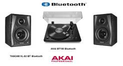 Akai BT100 Bluetooth + Tascam VL-S3 BT Bluetooth включай и слушай!