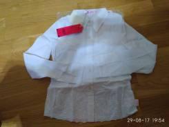 Блузки школьные. Рост: 110-116, 116-122 см