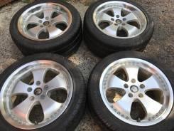 ASA Wheels. 8.0/9.0x17, 5x114.30, ET35/38, ЦО 73,1мм.