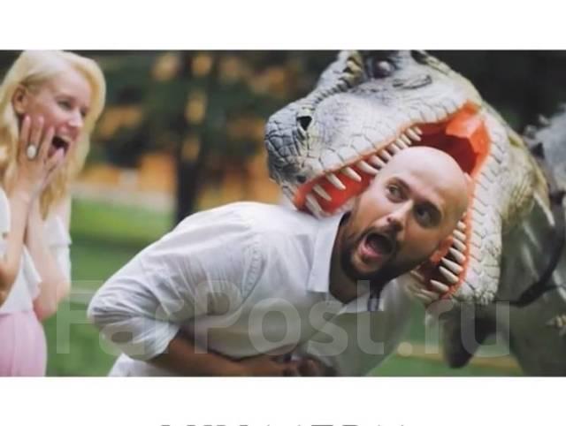 Дино Шоу- ! Живой динозавр на Ваш праздник! аниматор. палеонтолог