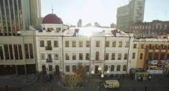 250 кв. м. на 1 этаже ТЦ Волковинский холл. 250 кв.м., улица Муравьёва-Амурского 36, р-н Центральный. Дом снаружи