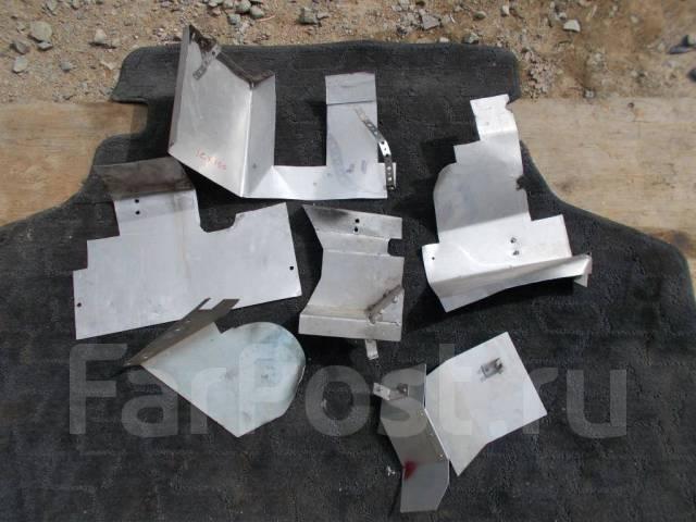 Тепловой экран турбины. Subaru Impreza WRX, GC8LD3, GC8