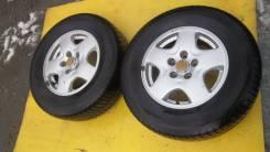 Пара колес на литье Mazda Bongo. x15