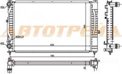 Радиатор AUDI A4/S4 1.6/1.8/1.8T/1.9TD 94-00/AUDI A6/S6 1.9TD 97-04/VW PASSAT B5+ 1.6/1.8T/1.9TD/2.0
