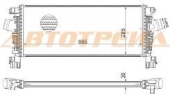 ST-1302148 SAT Радиатор интеркулера CHEVROLET CRUZE/OPEL ASTRA J 09- A/T