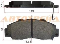 Колодки тормозные FR HO CR-V RD1/2 MTM,CIVIC EK9 TYPER 95-02,STEPWGN,S-MX 96-,ODYSSEY 94-,HR-V 98-,A