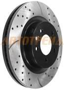 Комплект дисков тормозных передний перфорированные LAND ROVER DISCOVERY IV 09-/RANGE ROVER III 05-12