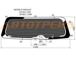 Стекло заднее (крышка багажника) затемненное с обогревом TOYOTA SUCCEED 02- XYG NCP58-D RW/H/X