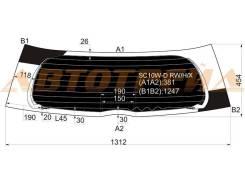 Стекло заднее (крышка багажника) затемненное с обогревом TOYOTA IST/SCION XA NCP6# 02-07