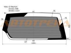Стекло заднее (крышка багажника) затемненное с обогревом SUZUKI ESCUDO/VITARA 89-/SIDEKICK JEEP V\CH