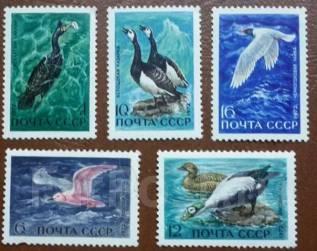 Набор. Птицы. СССР.1972 г.