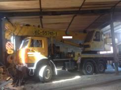 Камаз 53228. Автокран 2008 год Вездеход г/п 36 тонн, 10 850 куб. см., 36 000 кг., 24 м.