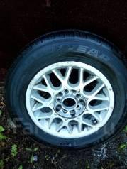 Одна летняя шина 185/70/R14 на литье. 6.0x14 5x100.00, 5x114.30 ET38 ЦО 73,0мм.