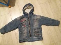 Куртки джинсовые. Рост: 86-92, 98-104 см