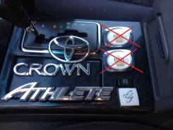 Эмблема. Toyota Crown, JZS171, JZS171W, JZS175W, JZS177, JZS179, JZS175, JZS173, JZS173W Двигатели: 2JZFSE, 1JZGE, 2JZGE, 1JZGTE, 1JZFSE