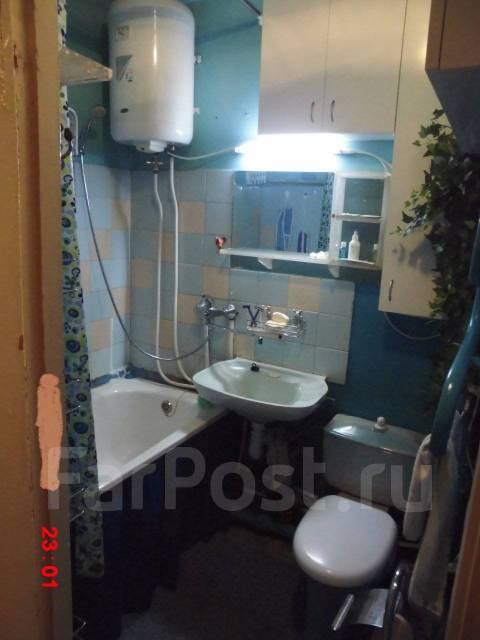1-комнатная, улица Хабаровская 2. Первая речка, 32кв.м. Ванная