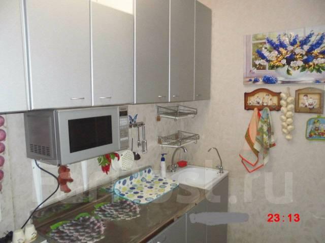 1-комнатная, улица Хабаровская 2. Первая речка, 32кв.м. Кухня