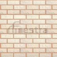 Цокольный сайдинг (кирпич белый) Альта-Профиль 1140х480х20мм