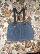 Платья джинсовые. Рост: 98-104 см