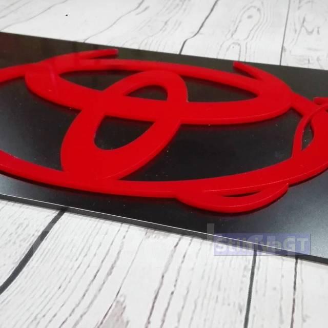 Табличка. Toyota