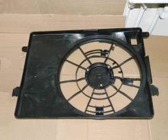 Вентилятор охлаждения радиатора. Hyundai Tucson, JM Двигатели: D4EA, G6BA, G4GC