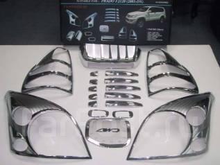 Накладка декоративная. Toyota Land Cruiser Prado, GRJ120, GRJ120W, KDJ120, KDJ120W, KZJ120, LJ120, RZJ120, RZJ120W, TRJ120, TRJ120W, VZJ120, VZJ120W