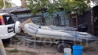 Продам моторную лодку. Год: 2013 год, длина 3,60м., двигатель подвесной, 15,00л.с., бензин