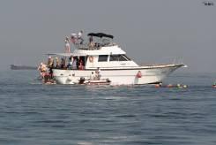 Аренда катера 16 метров до 30 человек.